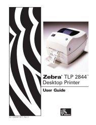 Zebra® TLP 2844 Desktop Printer - BlueStar