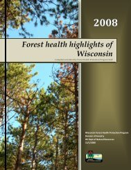 WI - Forest Health Monitoring - USDA Forest Service