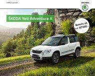 ŠKODA Yeti Adventure II - J.H. Keller AG
