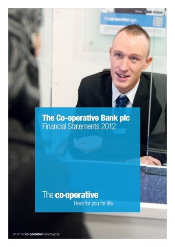 The Co-operative Bank plc Financial Statements 2012