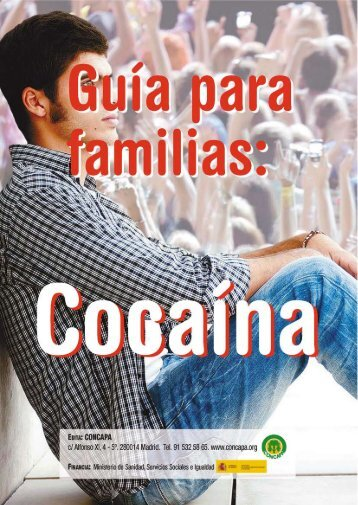 Cocaína - Plan Nacional sobre drogas
