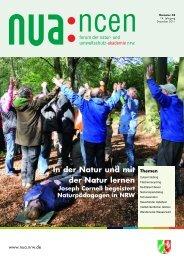 Naturerleben - Natur- und Umweltschutz-Akademie NRW