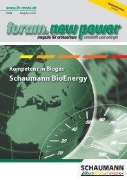 Biogas - nova-Institut GmbH