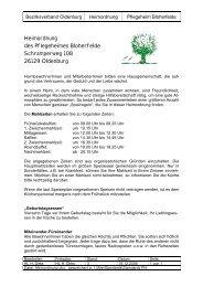 Heimordnung des Pflegeheimes Bloherfelde Schramperweg 108 ...