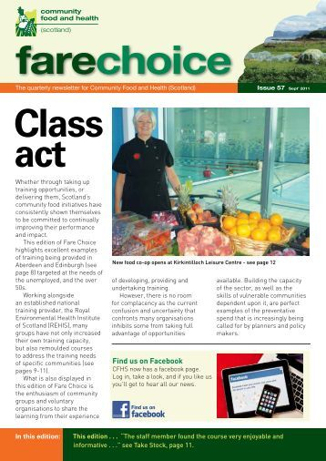 Fare Choice Issue 57 - Community Food and Health