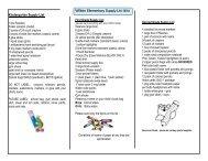 ECHO HILL SCHOOL SUPPLY LIST-6/1/12 - Linn-Mar Community