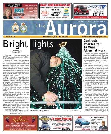 Dec 10 2012 - The Aurora Newspaper
