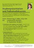 Studienpräsentation und Podiumsdiskussion: - Mein Klagenfurt - Seite 2
