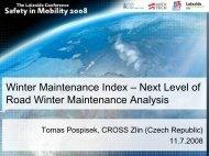 Winter Maintenance Index – Next Level of Road Winter Maintenance ...