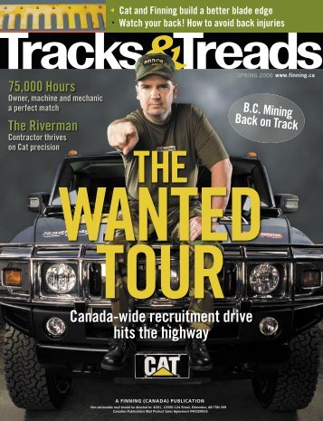 Wanted Tour - Finning Canada