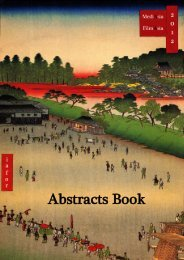 Abstracts Book - The Asian Conference on Media