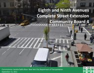 Eighth and Ninth Avenues Complete Street Extension ... - NYC.gov