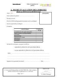 c- fiche evaluation des jobistes - La Foire de Libramont