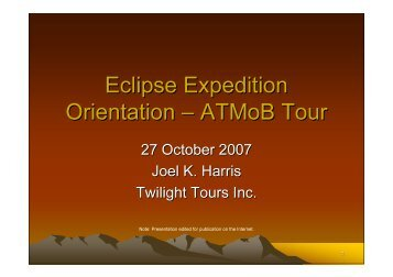 eclipse trip