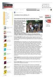 Tesisat Market Temmuz 2005 Sayı: 78 Toplantı KLİMA-SOĞUTMA ...