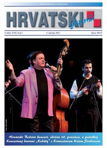 1. broj 5. siječnja 2012.