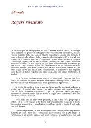 Editoriale: Rogers rivisitato - ACP