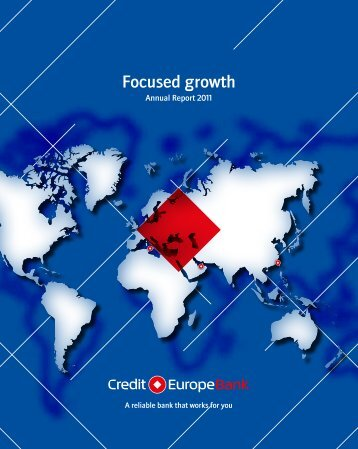 Annual Report 2011 - Credit Europe Bank