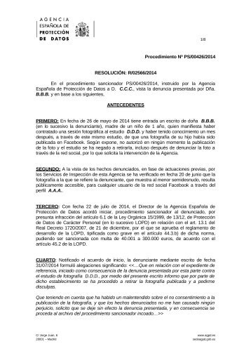 PS-00426-2014_Resolucion-de-fecha-20-11-2014_Art-ii-culo-6-LOPD