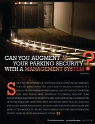 Can You Augment Your Parking Security With a Management System?