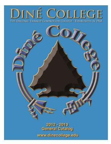 Academic Calendar for 2012-2013 - Diné College