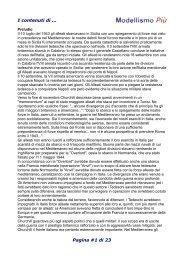 I contenuti di ... Pagina #1 di 23 - Le Gallerie di Modellismo Più