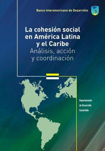la Cohesión Social en América Latina y el Caribe - Sector Fiscalidad