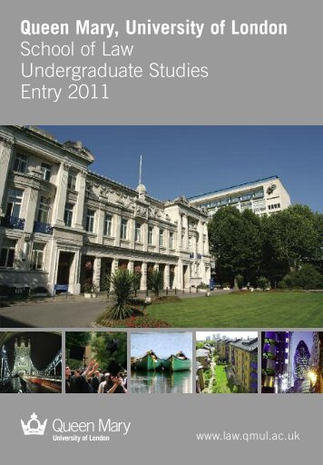 Queen Mary, University of London School of Law ... - Study in the UK
