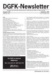 Ausgabe 03/1996 - Deutsche Gesellschaft zur Förderung der Kultur ...