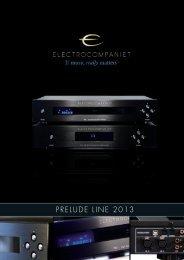 Prospekt Prelude-Line 2013 - Electrocompaniet