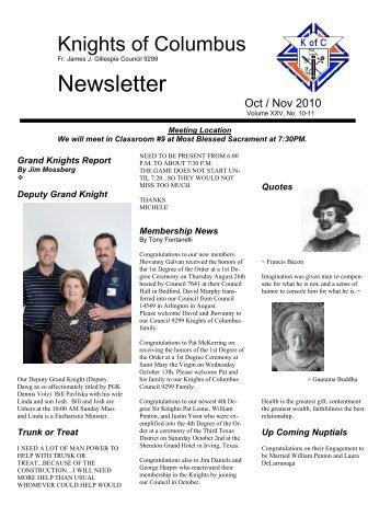 Newsletter - Most Blessed Sacrament Catholic Church