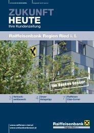 Raiffeisenbank Region Ried i. I. - Um Banken besser