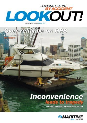 Issue 10, September 2008 - Maritime New Zealand