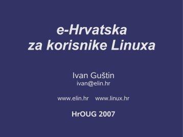 410_Guštin e-Hrvatska za korisnike Linuxa.pdf - HrOUG