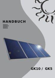GK10 / GK5 - SEG Solar Energy GmbH