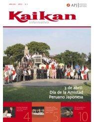 Nº 11 Abril - Asociación Peruano Japonesa