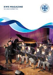 KWS Magazine 2012 Issue Two - Kinross Wolaroi School
