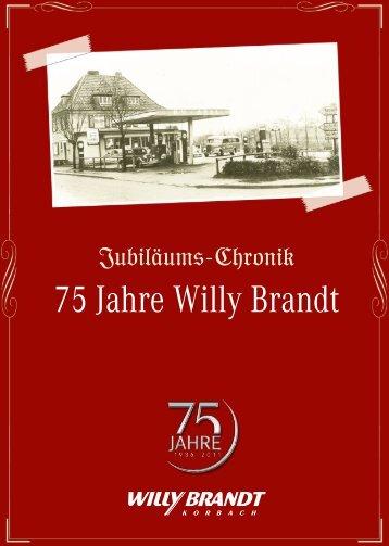 Zu unserer Chronik - Autohaus Willy Brandt
