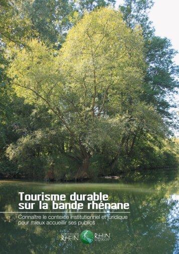 Tourisme durable sur la bande rhénane - Rhin Vivant / Lebendiger ...