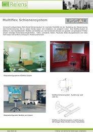 Multiflex Schienensystem m - Relens