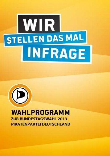pdf-Dokument - Piratenpartei Deutschland