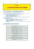 LES QUATRE CODES DE BASE - Page 3