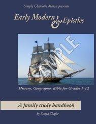 Early Modern & Epistles sample - Simply Charlotte Mason