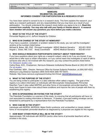 Participant Information And Consent Form - Austin Health