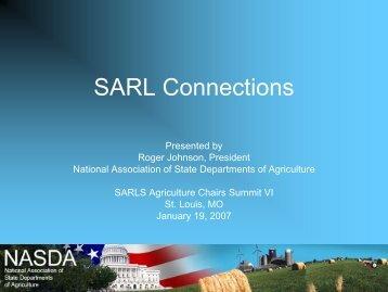 North Dakota Commissioner of Agriculture Roger Johnson - State ...