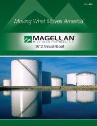 2012 Annual Report - Magellan Midstream Partners