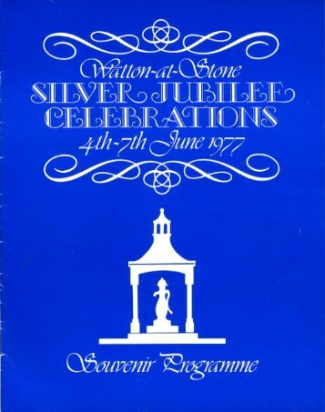 Community Association Silver Jubilee Celebrations - Watton-at ...
