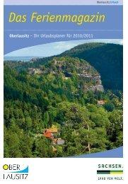 Oberlausitz – Ihr Urlaubsplaner für 2010/2011