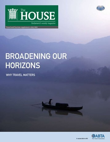 BROADENING OUR HORIZONS - Harold Goodwin