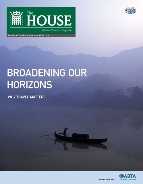 BROADENING OUR HORIZONS - Harold Goodwin